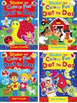 Sticker & Colour Fun Assorted 4 titles