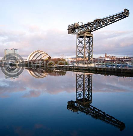 Clyde, Armadillo, Pacific Quay Glasgow (Colour)