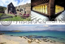 Isle of Iona Composite Postcard (HA6)