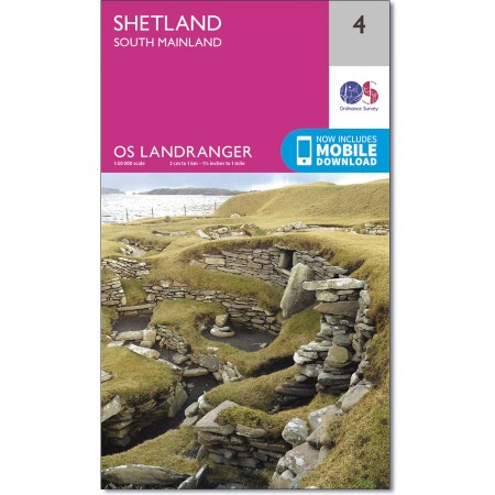 Landranger 04 Shetland - South Mainland