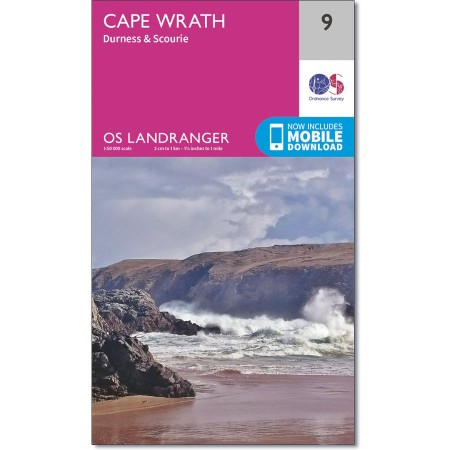 Landranger 09 Cape Wrath