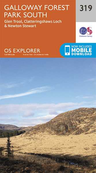 Explorer Map 319 Galloway Forest Park South