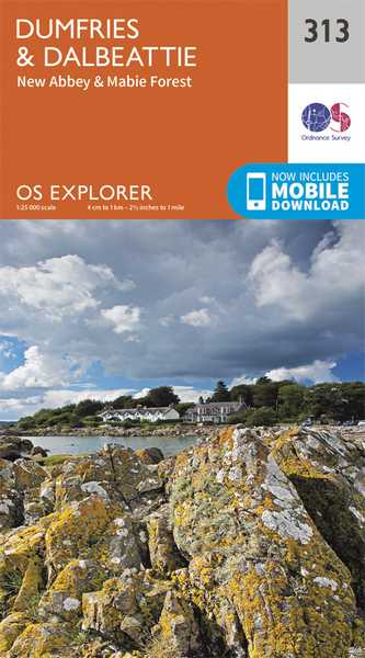 Explorer Map 313 Dumfries & Dalbeattie