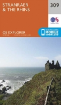 Explorer Map 309 Stranraer & The Rhins