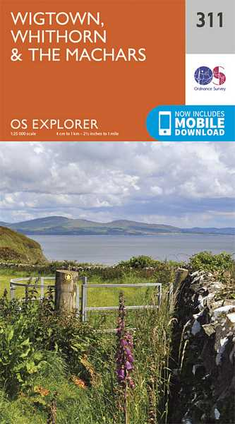 Explorer Map 311 Wigtown, Whithorn & The Machars