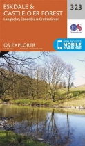 Explorer Map 323 Eskdale & Castle O'er Forest