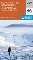 Explorer Map 329 Lowther Hills, Sanquhar & Leadhills