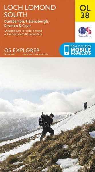 Explorer OL Map 38 Loch Lomond South