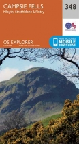 Explorer Map 348 Campsie Fells