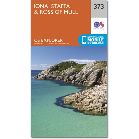 Explorer 373 Iona, Staffa & Ross of Mull