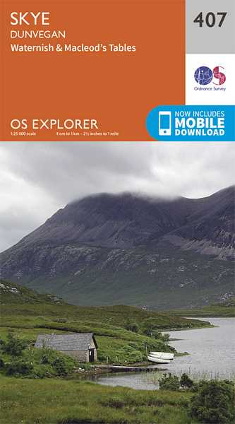 Explorer Map 407 Skye - Dunvegan