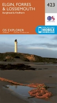 Explorer Map 423 Elgin, Forres & Lossiemouth