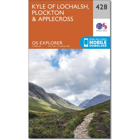 Explorer 428 Kyle of Lochalsh, Plockton & Applecross