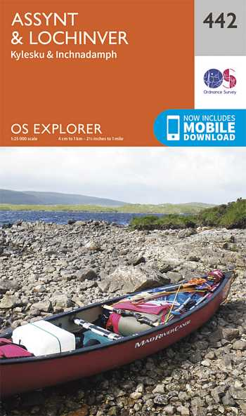 Explorer Map 442 Assynt & Lochinver