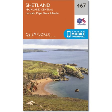 Explorer 467 Sheltand - Mainland Central