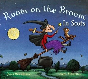 Room on the Broom - In Scots