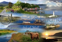 Isle of Mull Fusion Postcard (HA6)