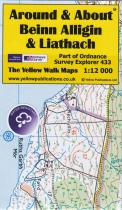 A&A Map Beinn Alligin & Liathach