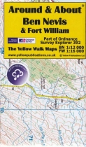 A&A Map Ben Nevis & Fort William