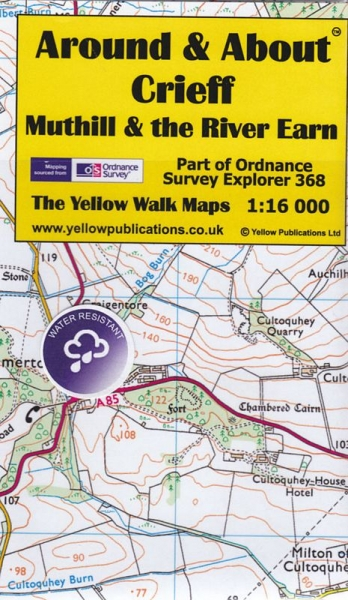 A&A Map Crieff, Muthill & the River Earn