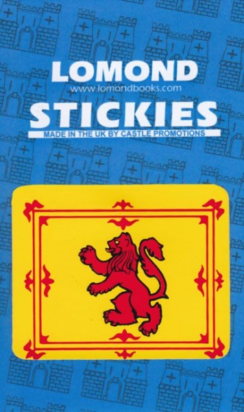 Lion Rampant Rectangle Small Stickies