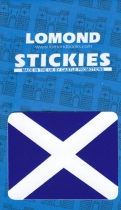 St Andrews Cross - Saltire Small Stickies