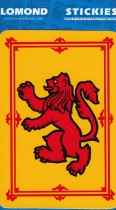 Lion Rampant Rectangle Large Stickies