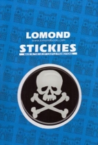Skull & Crossbones Round Polydome Stickies