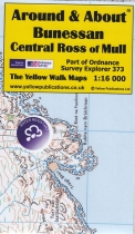 A&A Map Bunessan, Central Ross of Mull