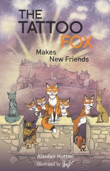 Tattoo Fox Makes New Friends