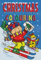 Christmas Colouring Book: 4 titles Asst