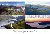 Scotland from the Air Composite Postcard (HA6)