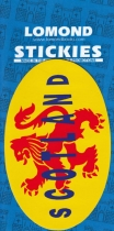 Scotland Lion Oval Medium Stickies
