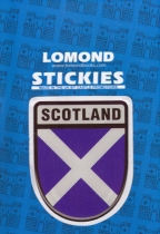 Scotland Shield Polydome Stickies