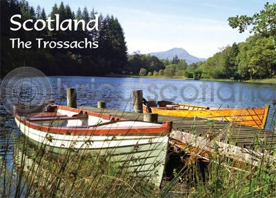 Scotland - The Trossachs, Loch Ard Magnet (H)