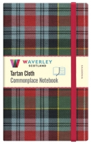 Tartan Cloth Notebook Large: Caledonia