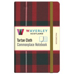 Tartan Cloth Notebook: MacGregor