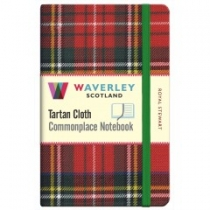 Tartan Cloth Notebook: Royal Stewart