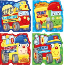 Transport Board Books: 4 Asst Titles