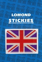 Union Jack Rectangle Polydome Stickies