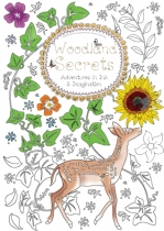 Woodland Secrets Colouring Book